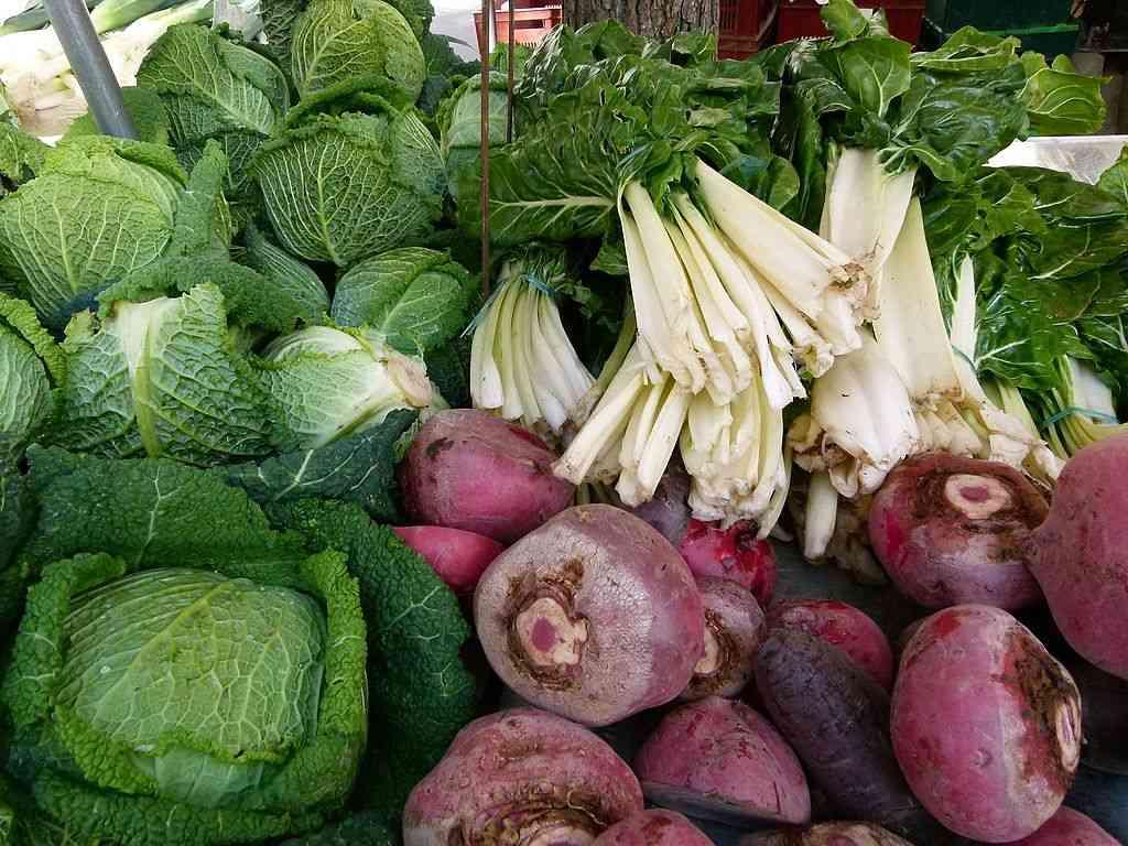 Choux et Betteraves - des légumes très concentrés en antioxydants