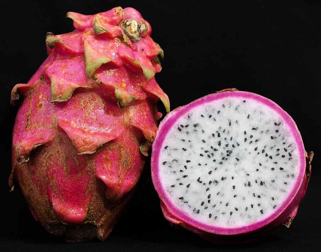 La Pitaya ou Fruit du Dragon connu pour son pouvoir antioxydant