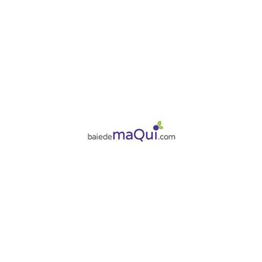 Maqui Bio en Poudre 100G dans sa boite en métal et vendu avec sa dosette